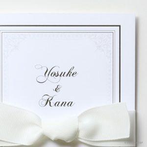 結婚式 招待状 Chateau イメージ