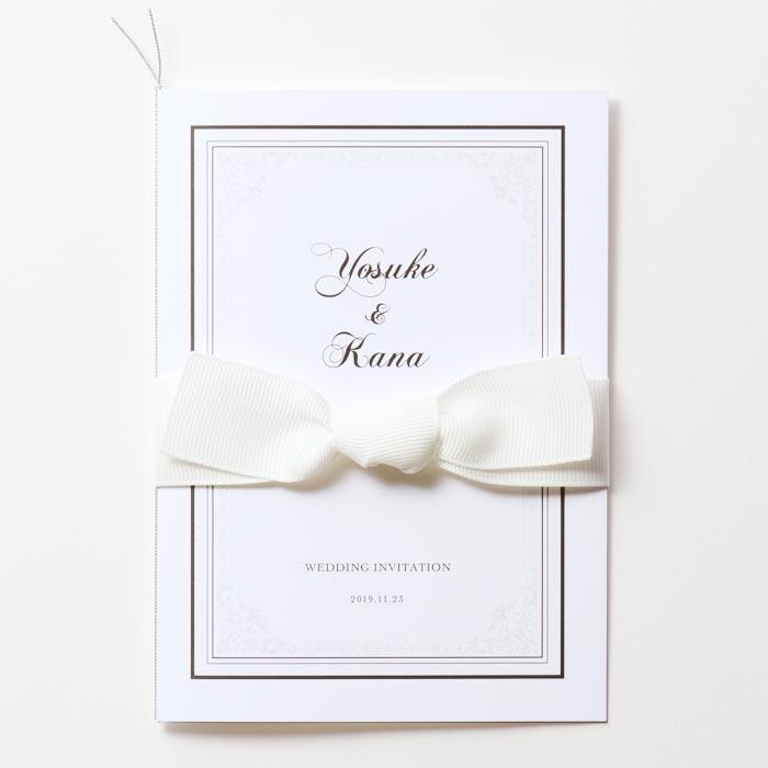 結婚式 招待状 Chateau 1