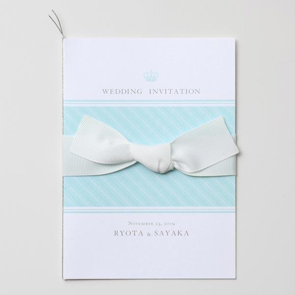 結婚式 招待状 Robins -crown- 1