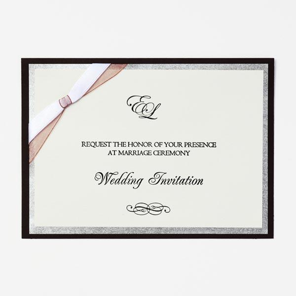 結婚式 招待状 Tie 1
