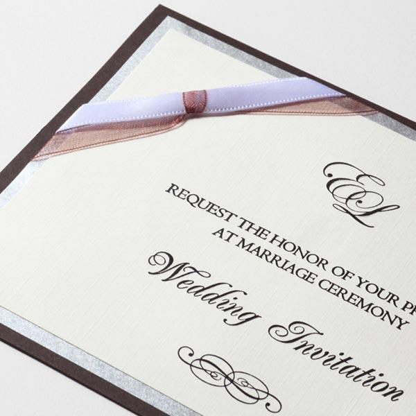 結婚式 招待状 Tie 2