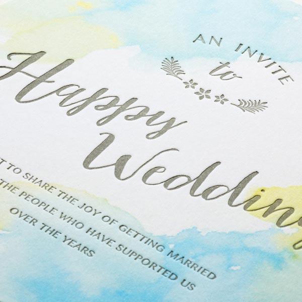 結婚式 招待状 Lana -sunshine- 2