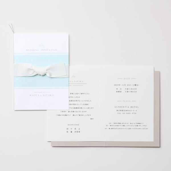 結婚式 招待状 Robins -tiara- 3