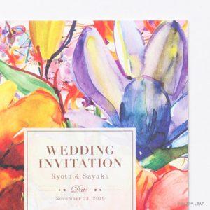結婚式 招待状 Lahaina イメージ
