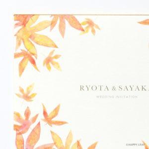 結婚式 招待状 Maple イメージ