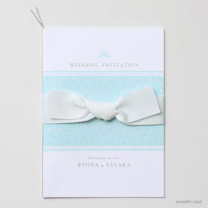 結婚式 招待状 Robins -tiara-