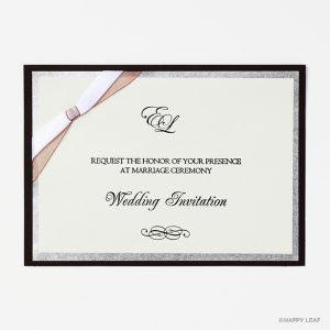 結婚式 招待状 Tie