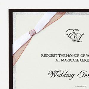 結婚式 招待状 Tie イメージ