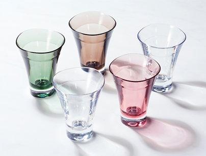 引き出物 ゆらぎミニグラス/5個セット</br>[プラキラ]</br>5,000円(税別)