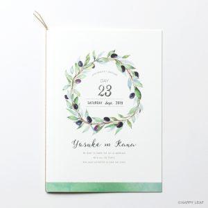 結婚式 招待状 Olive