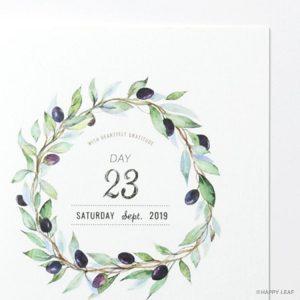 結婚式 招待状 Olive イメージ