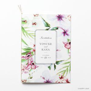 結婚式 招待状 Aulii