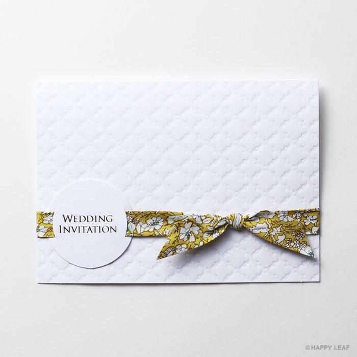 結婚式 招待状 rustic 2