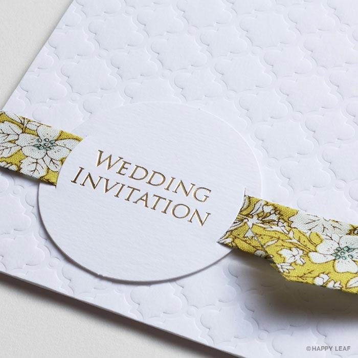 結婚式 招待状 rustic 3