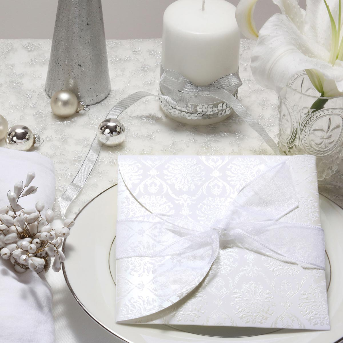 結婚式 招待状 Veil 1