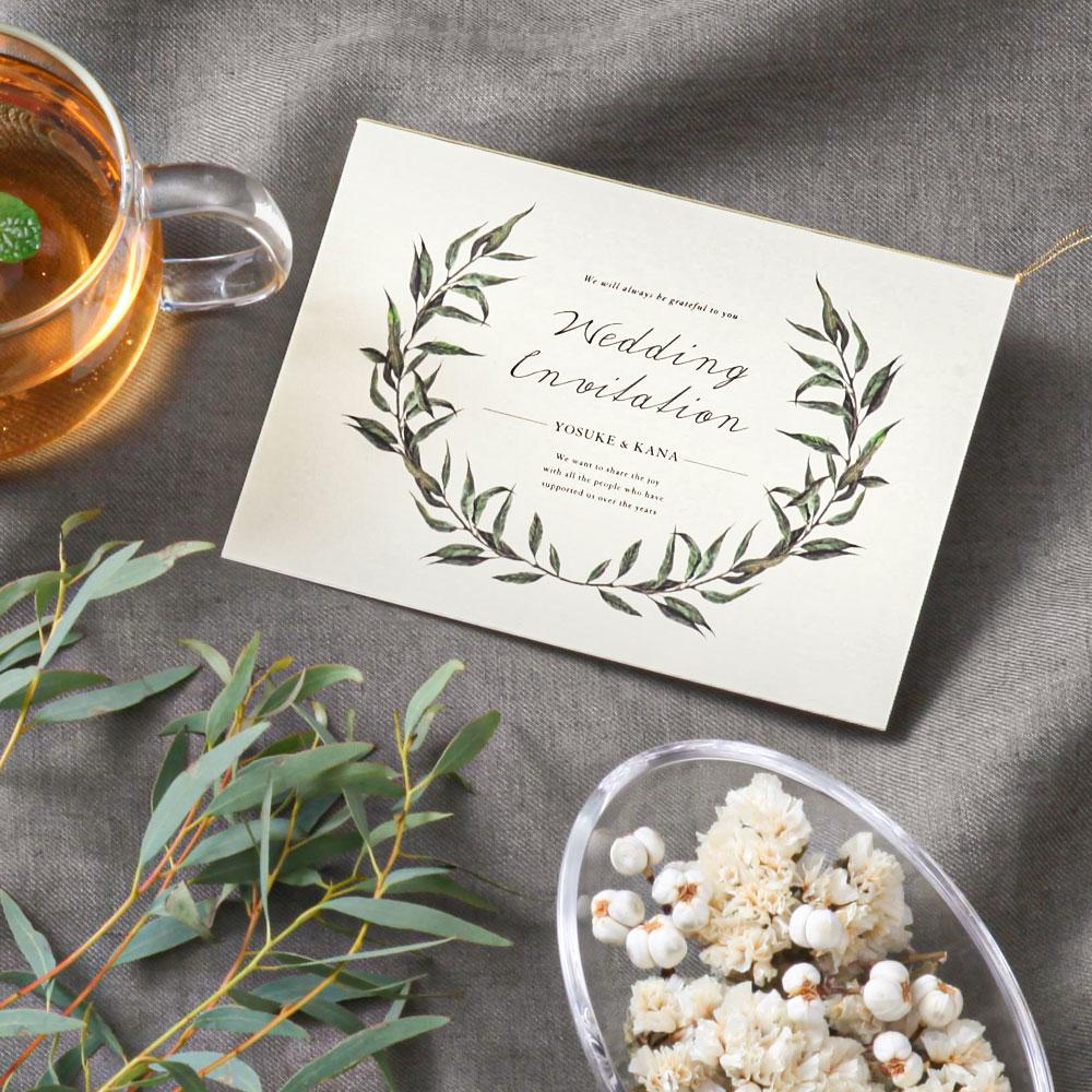 結婚式 招待状 erba 1