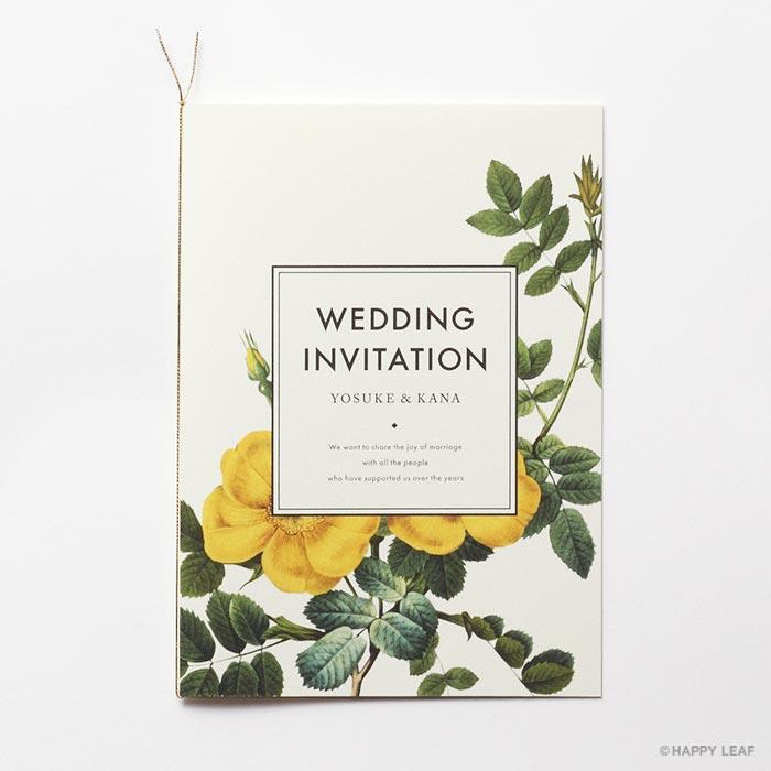 結婚式 招待状 Dear 2