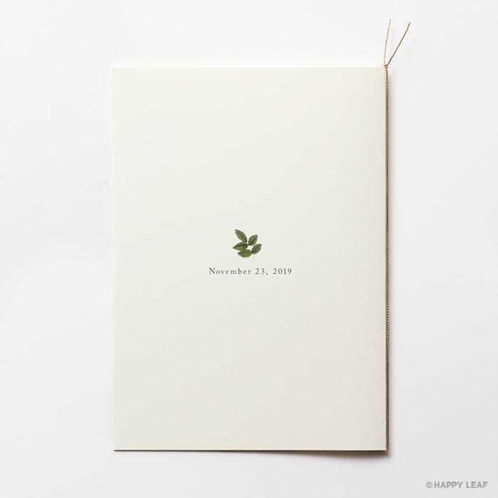 結婚式 招待状 Dear 4