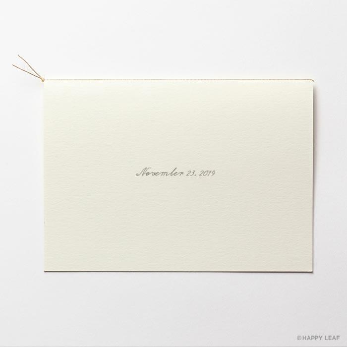 結婚式 招待状 erba 4