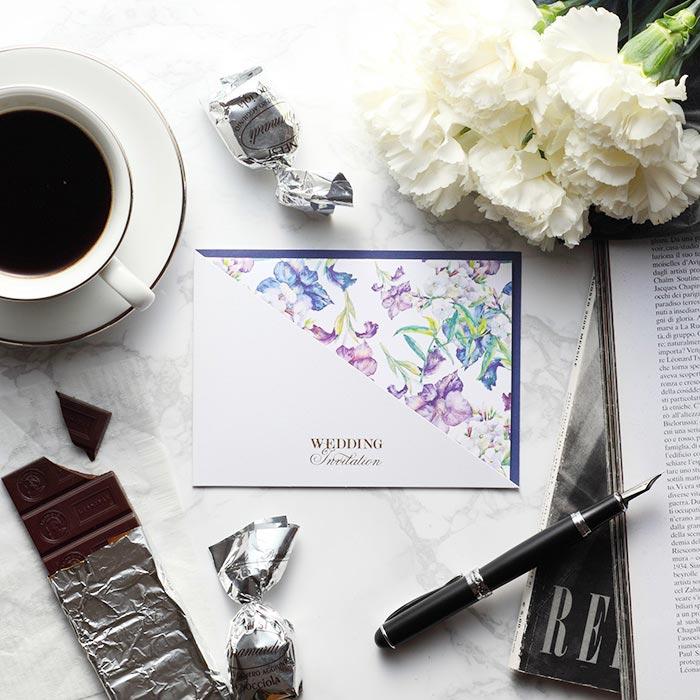 結婚式 招待状 Gladiolus 1