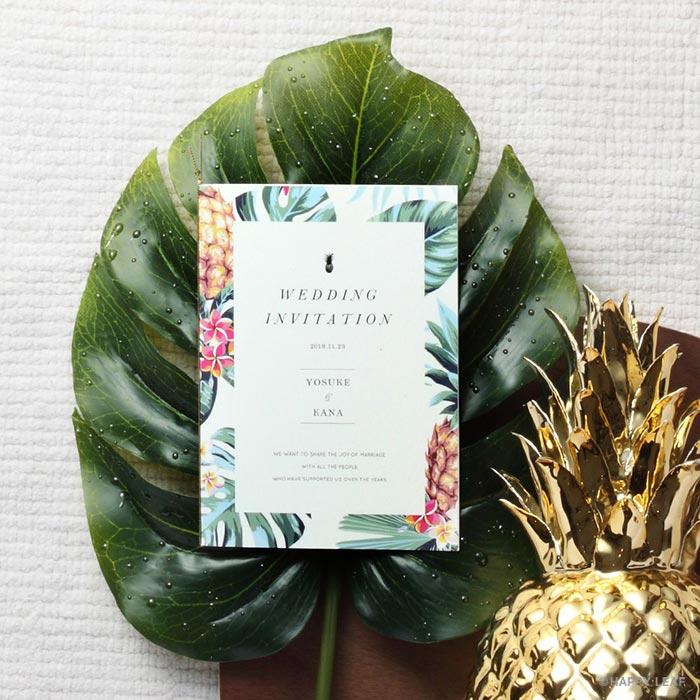 結婚式 招待状 Pine 1