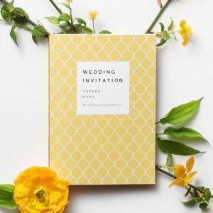 結婚式 招待状 やまぶき イメージ