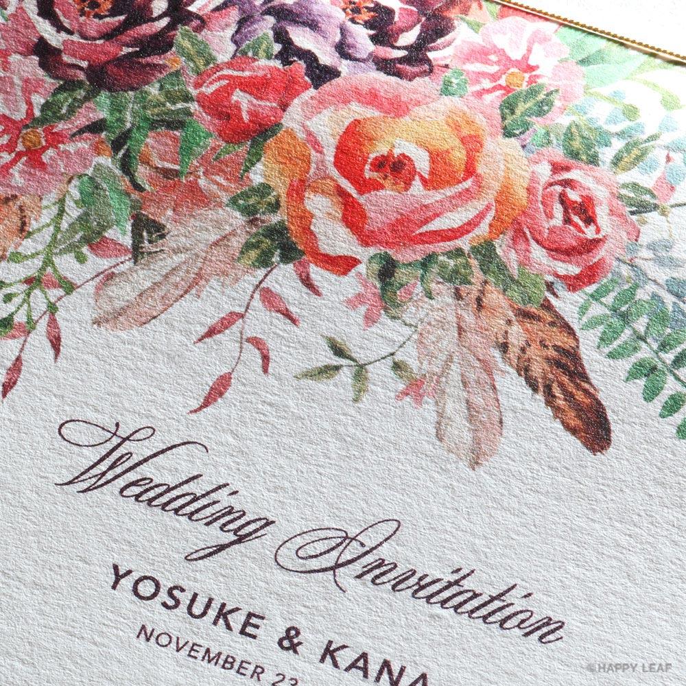 結婚式 招待状 TEANA 2