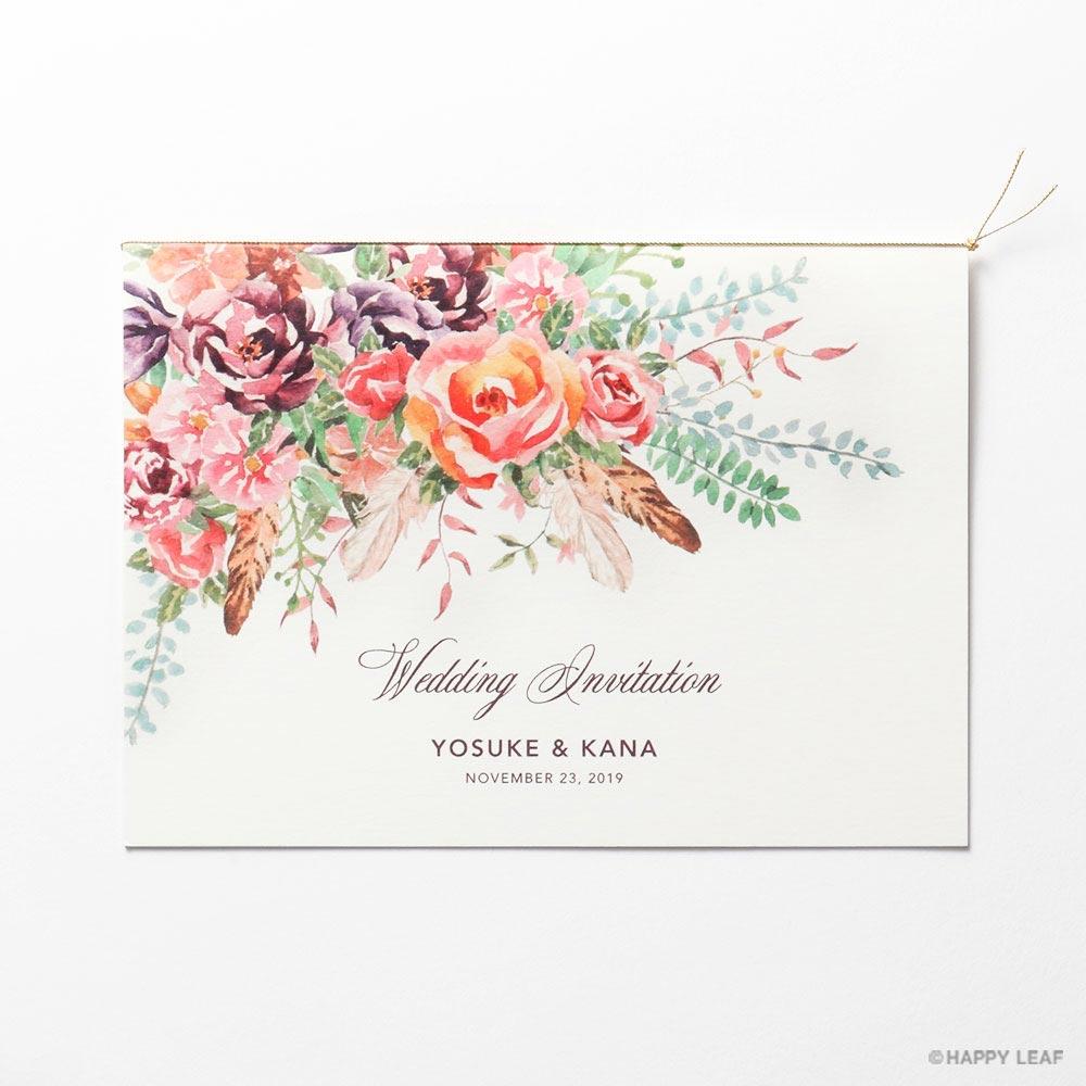 結婚式 招待状 TEANA 1