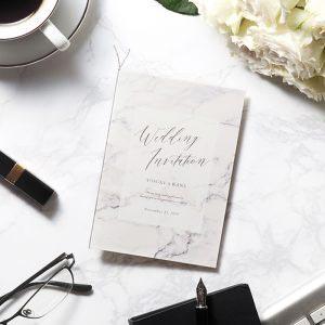 結婚式 招待状 MARBLE Gray イメージ