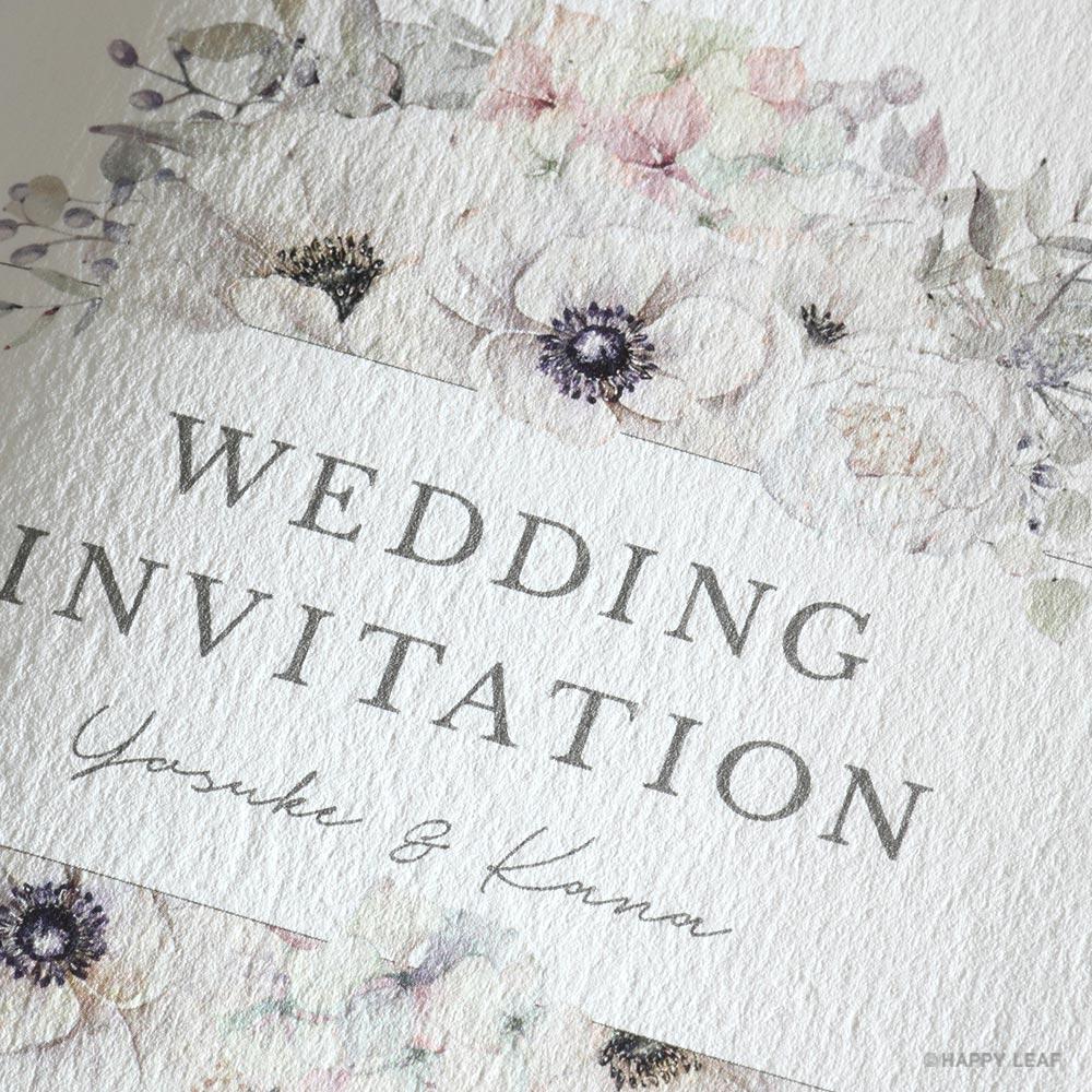 結婚式 招待状 espoir 2