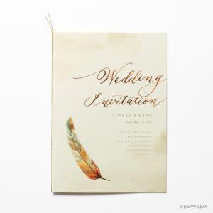 結婚式 招待状 Mandarin