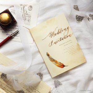 結婚式 招待状 Mandarin イメージ