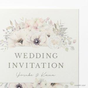 結婚式 招待状 espoir イメージ