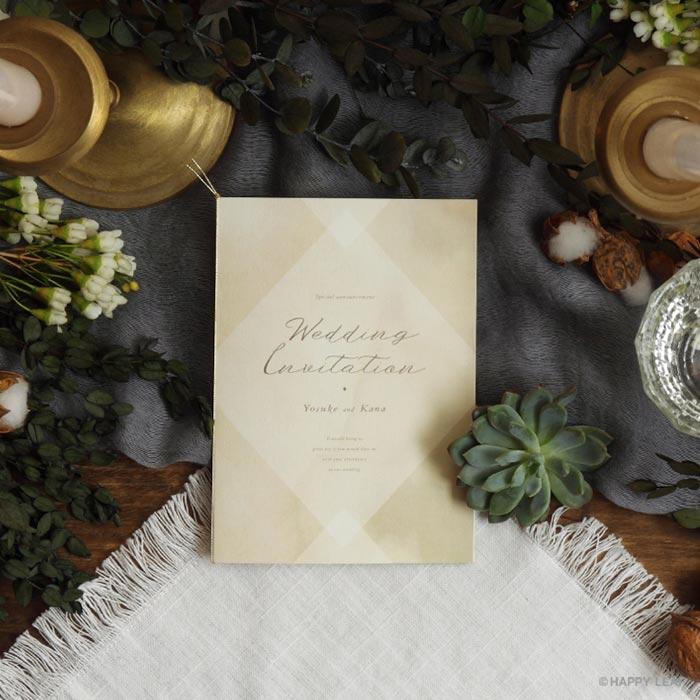 結婚式 招待状 Holy 1