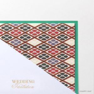 結婚式 招待状 花菱 イメージ