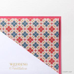 結婚式 招待状 七宝 イメージ
