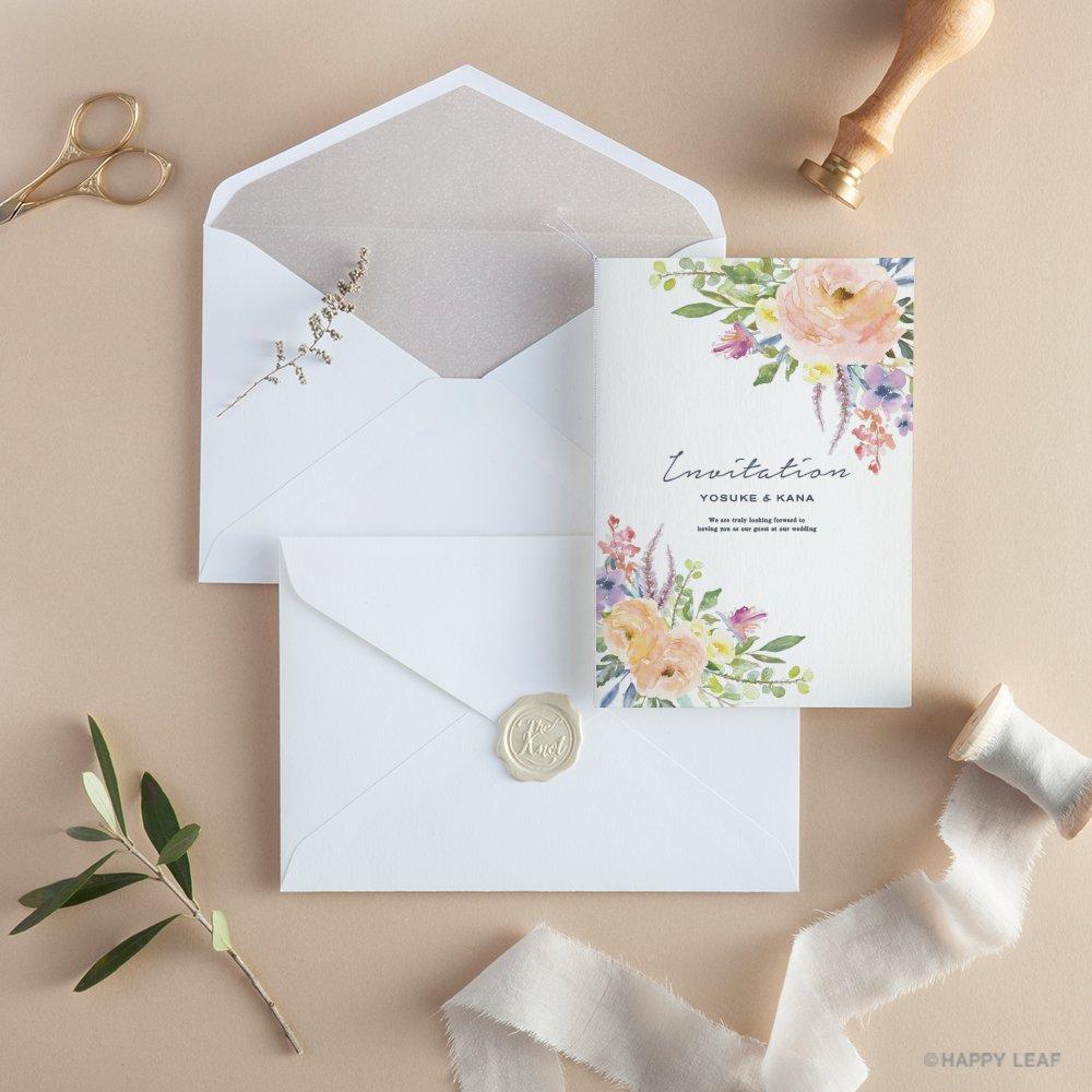 結婚式 招待状 caro 11