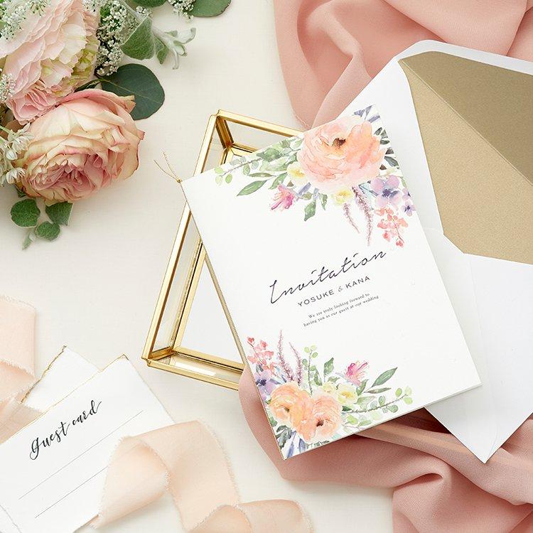 結婚式 招待状 caro 1