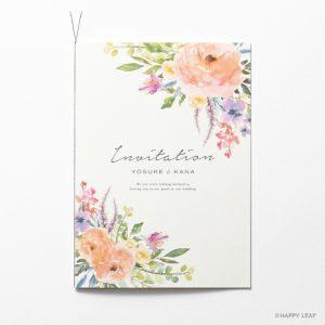 結婚式 招待状 caro