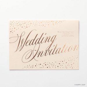 結婚式 招待状 perle