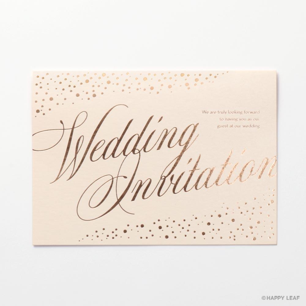 結婚式 招待状 perle 1