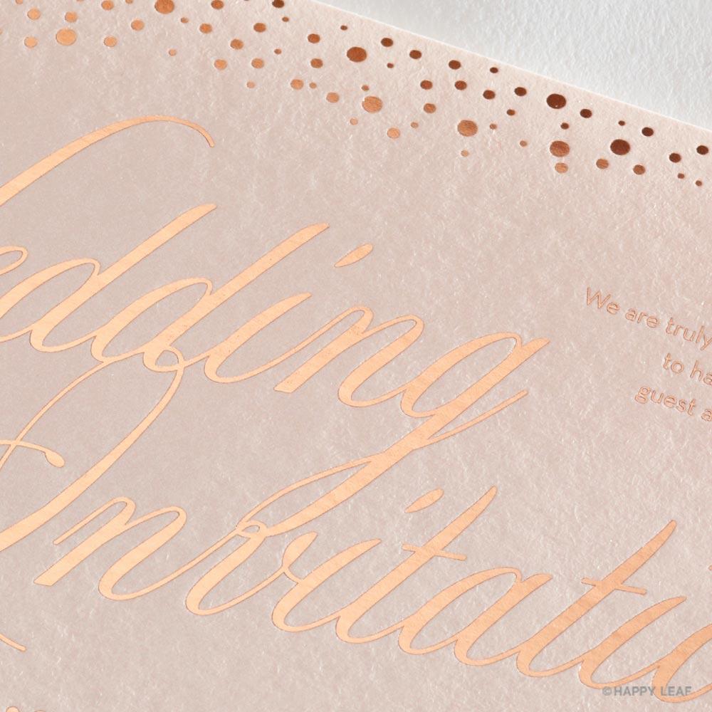 結婚式 招待状 perle 2