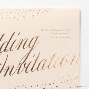 結婚式 招待状 perle イメージ