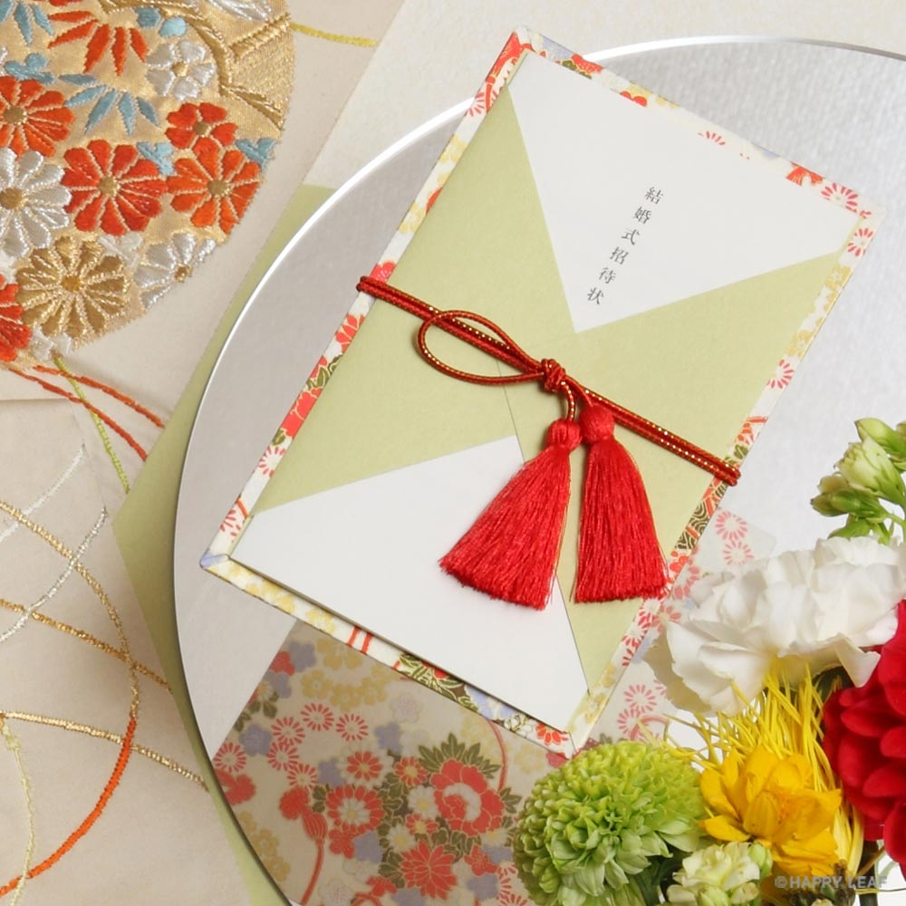結婚式 招待状 和華 1