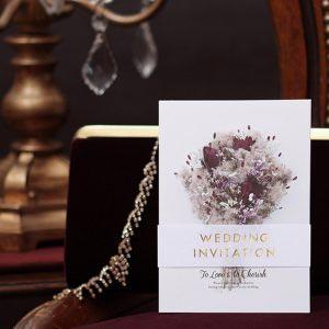 結婚式 招待状 スモークツリー イメージ