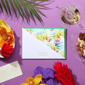 結婚式 招待状 カトレア イメージ