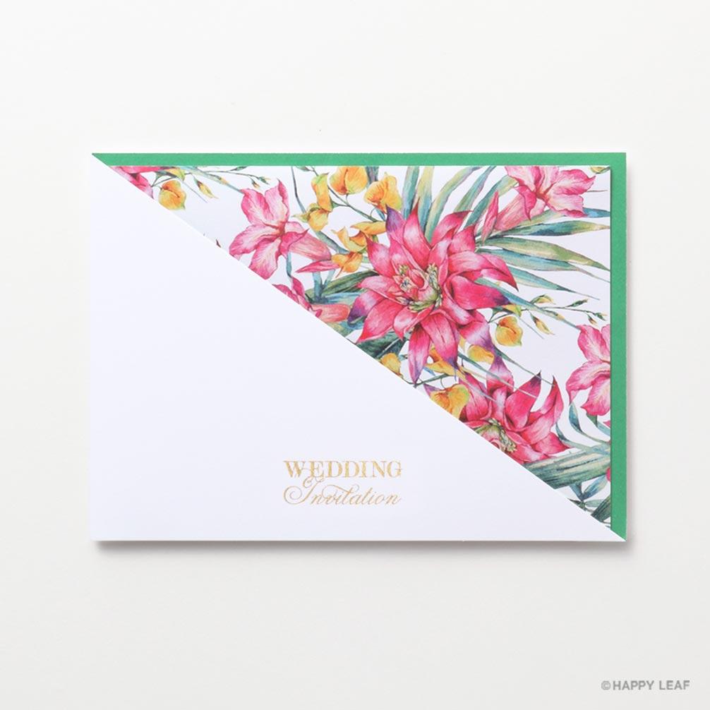 結婚式 招待状 アナナス 3