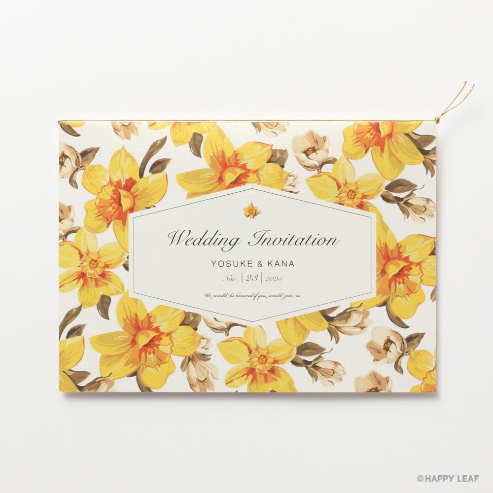 結婚式 招待状 canary 1