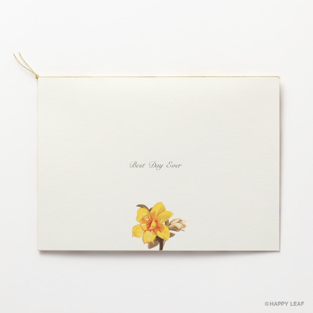 結婚式 招待状 canary 4