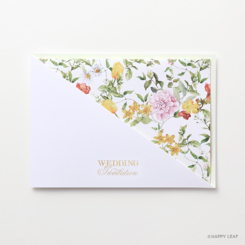 結婚式 招待状 carino 2